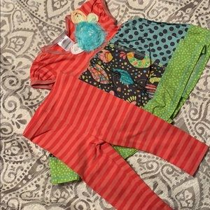 12m Bonnie Baby outfit